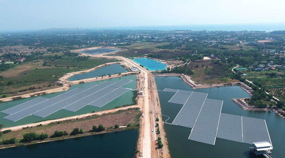 泰国12.5MW水面漂浮电站